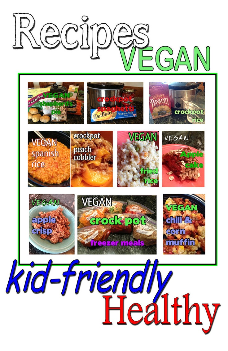 1000+ images about Vegan recipes on Pinterest | Kid recipes, Vegans ...
