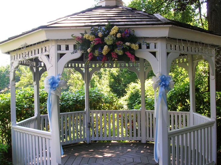 Outdoor Weddings Wedding Gazebo Decorating Ideas Outdoor