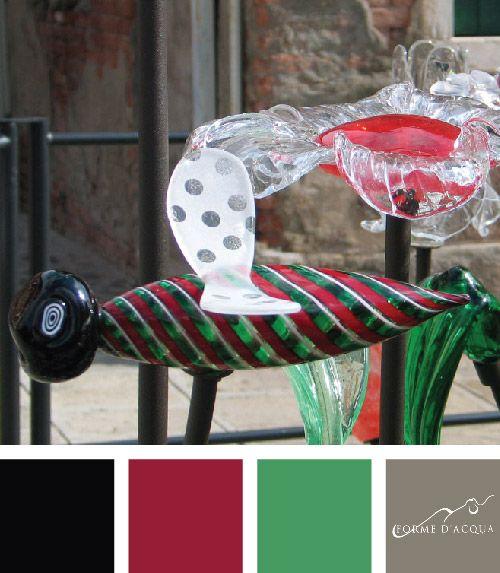 Giardino Italia Installation | Made of 150 glass elements, realised by Consorzio Promovetro,  Vetro Artistico® Murano trademark | Murano, Venezia
