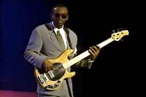 Chic Bass Player Bernard Edwards. Created some of the best Bass riffs out there.