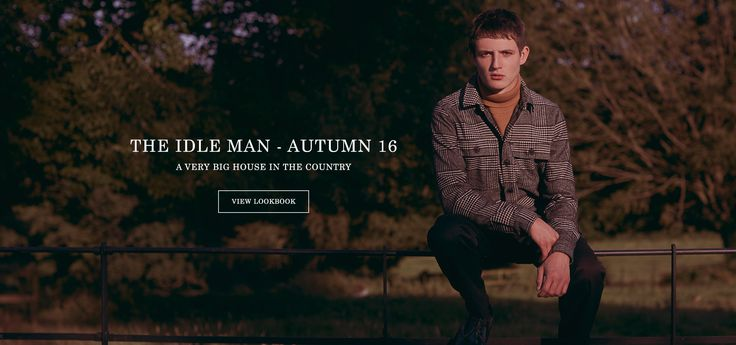 Men's Clothing & Fashion | The Idle Man – The online style destination for young men