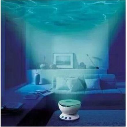 Projetor de Ondas do Oceano de LED