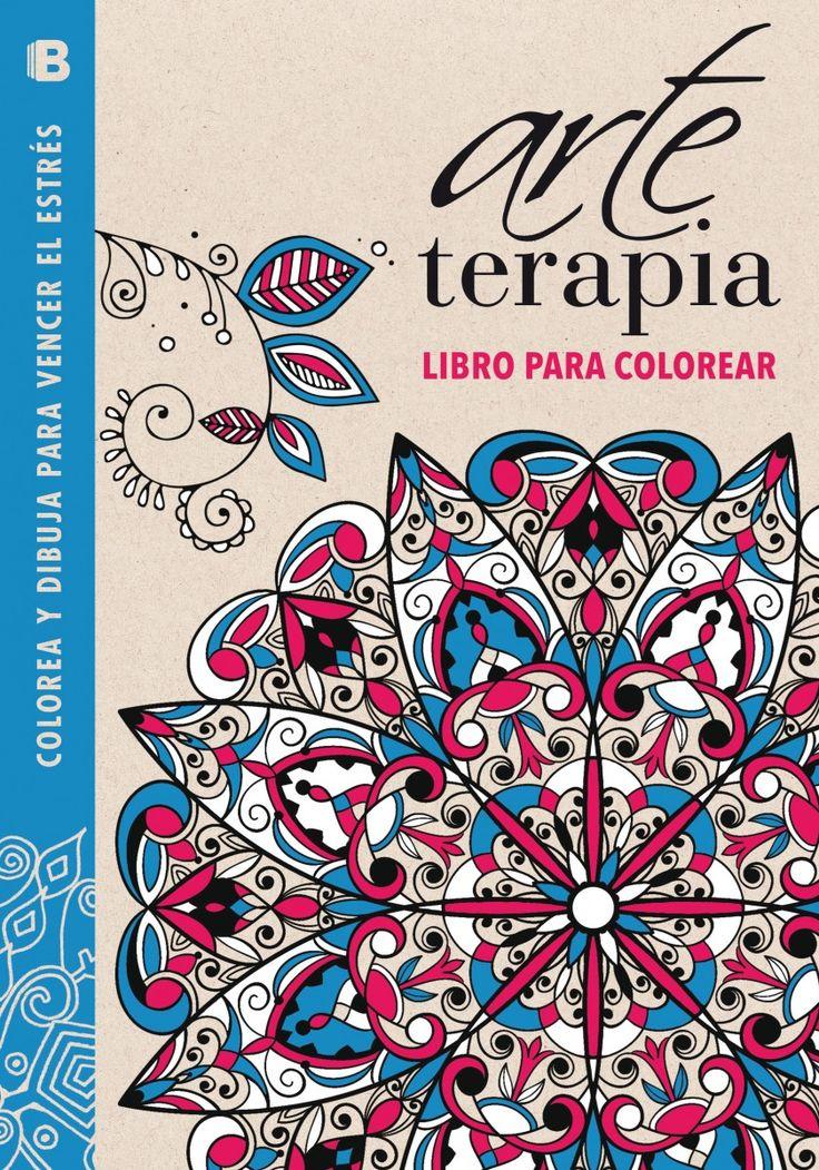 Arte terapia libro para colorear colorea y dibuja para for Imagenes de cuadros abstractos para colorear