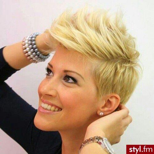 krótkie fryzury irokez damski - Szukaj w Google