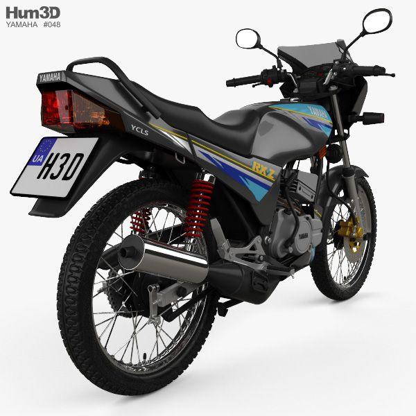 3d Model Of Yamaha Rxz 135 1997 Di 2020
