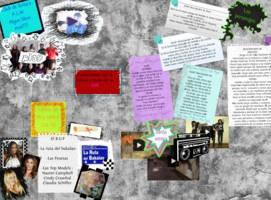 """Glogster realitzat pels alumnes del Club de lectura: ALM Algún Libro Más??? Sobre la lectura de """"Nunca seré tu héroe"""", de María Menéndez Ponte"""