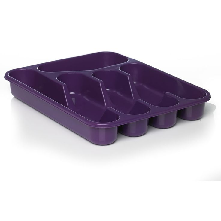 Wilko Colourplay Cutlery Tray Purple
