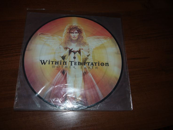 Within Temptation - Mother Earth (Picture Orange Vinyl) 2001 The Netherlands