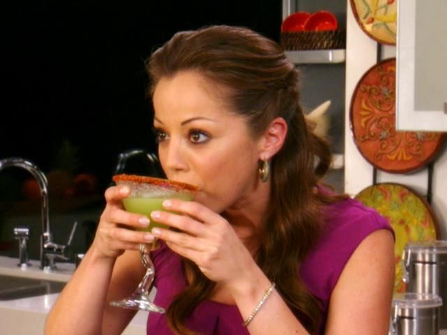 Mexican Cucumber Martinis Recipe : Marcela Valladolid : Food Network