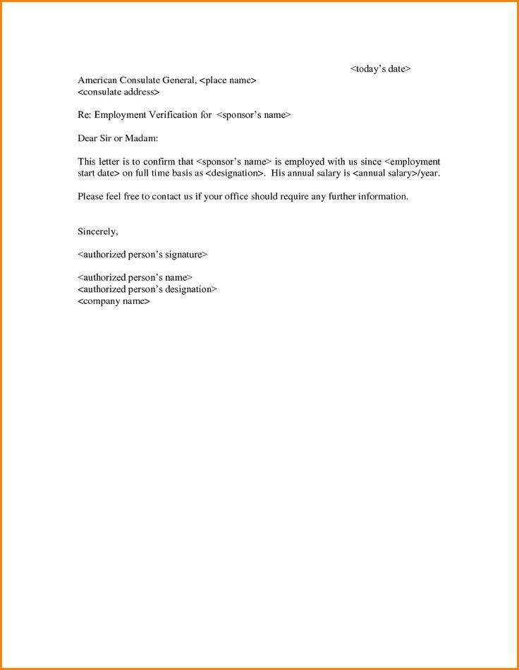 certification letter tenant sample employment for bonafide - employment verification letter