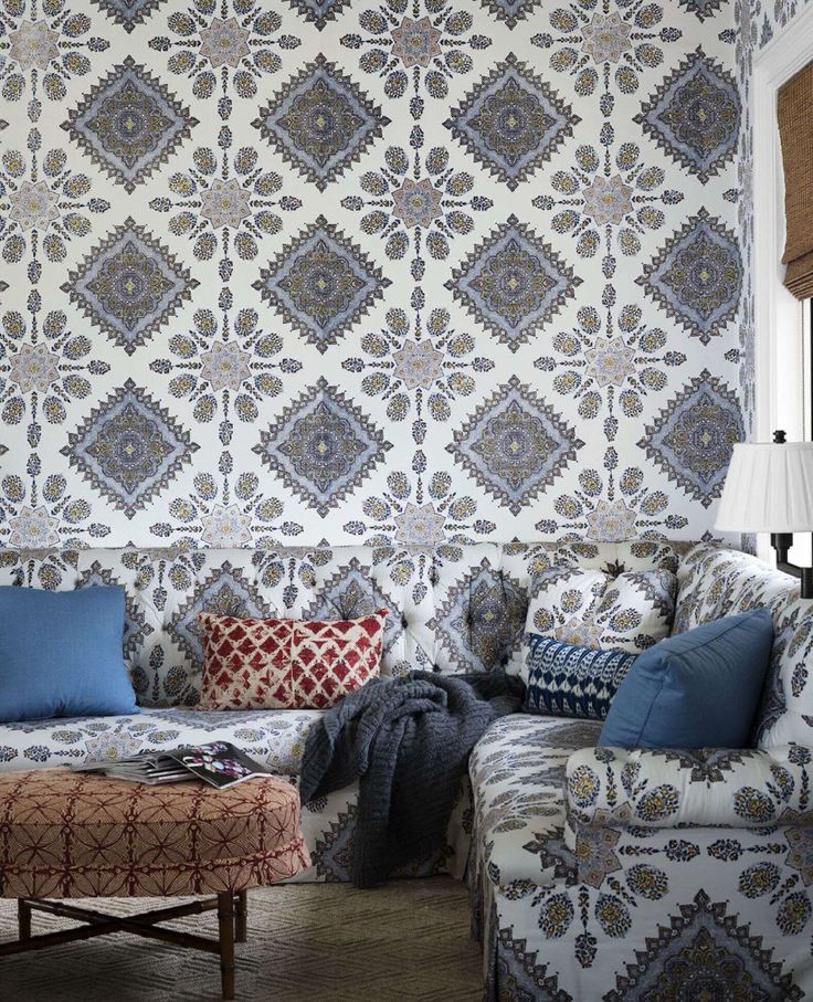 Home Couture Persepolis Seating And Wallpaper Design By Lee Ann Thornton Image Courtesy Of
