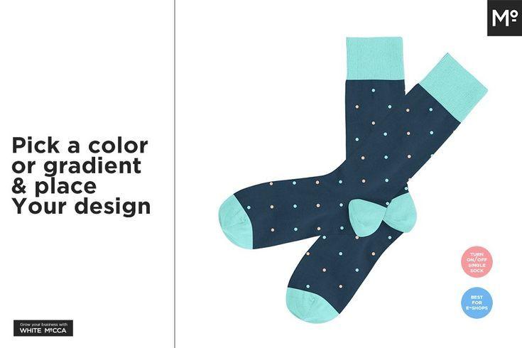 Download Sock Design Templates Mockup 8 Design Mockup Sock Socksdesign Templates Designer Socks Template Design Design