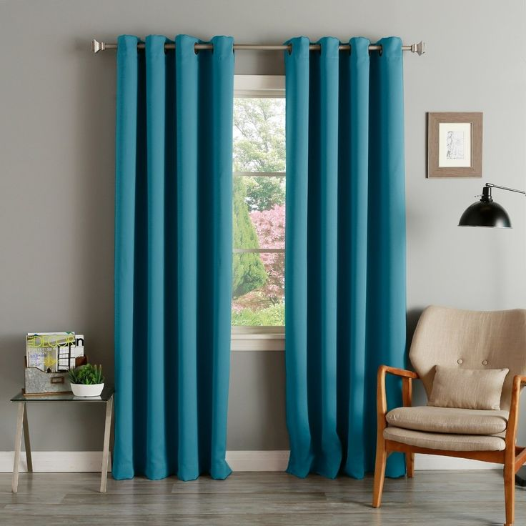1000+ Ideas About Teal Curtains On Pinterest