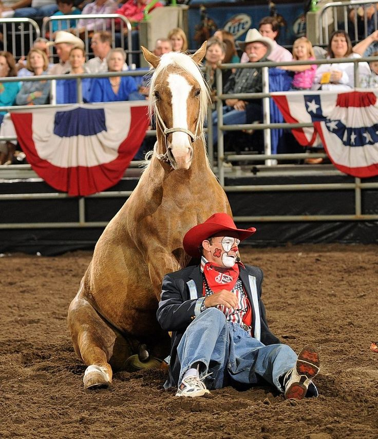 rodeo clowns cute !