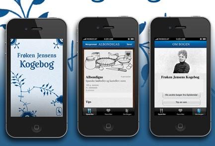 Frøken Jensens Kogebog - app
