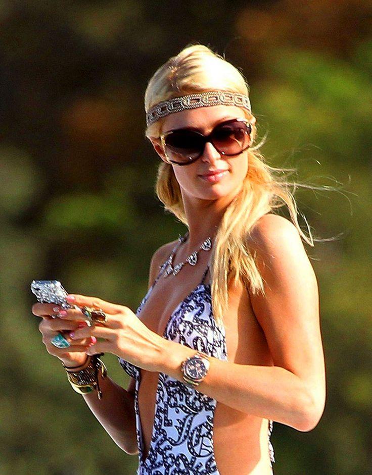 Paris Hilton Rose Gold Rolex Daytona