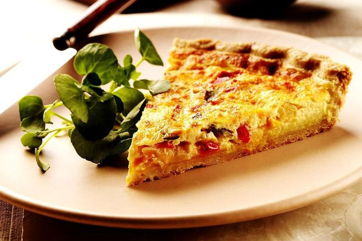 Roasted Vegetable Quiche Recipe