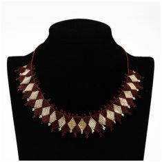 Collar Doble Rombo