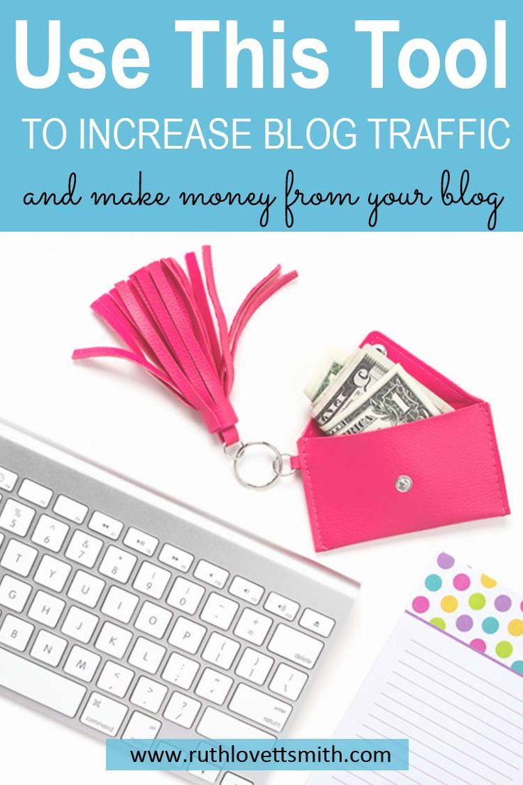 Increase blog traffic, and make money blogging by using this one tool. SEO tips and blogging tips to help you grow your blog. #bloggingtips #seo #seotips #beginnerblogging