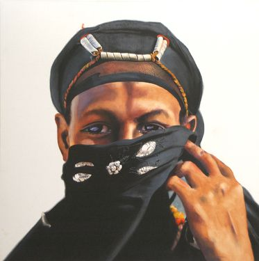 """Saatchi Online Artist James Campbell; Painting, """"Bedouin"""" #art"""
