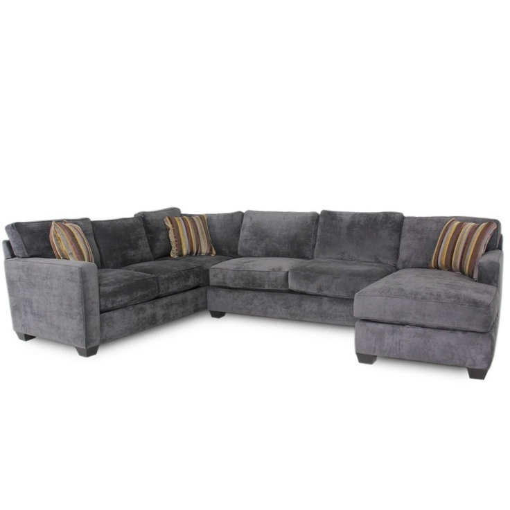 Jonathan Louis Bradford Albroke Plum Sectional Sofa Sectional Living Room Gallery Furniture