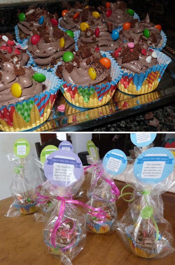 Cupcakes, dia del niño