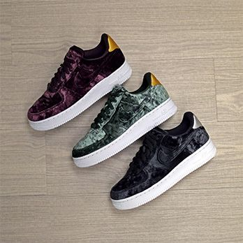 online retailer 46352 41202 nike w air force 1 velvet