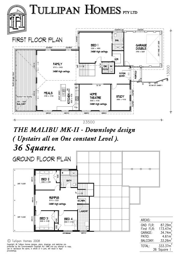 Malibu-MKII-Metro-Downslope design, Home Design, Tullipan Homes