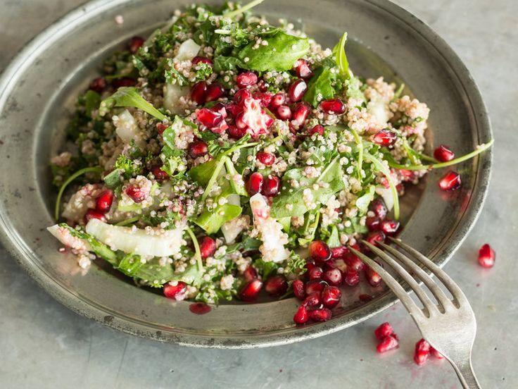 Fenchelsalat mit Quinoa und Granatapfelkernen_mag