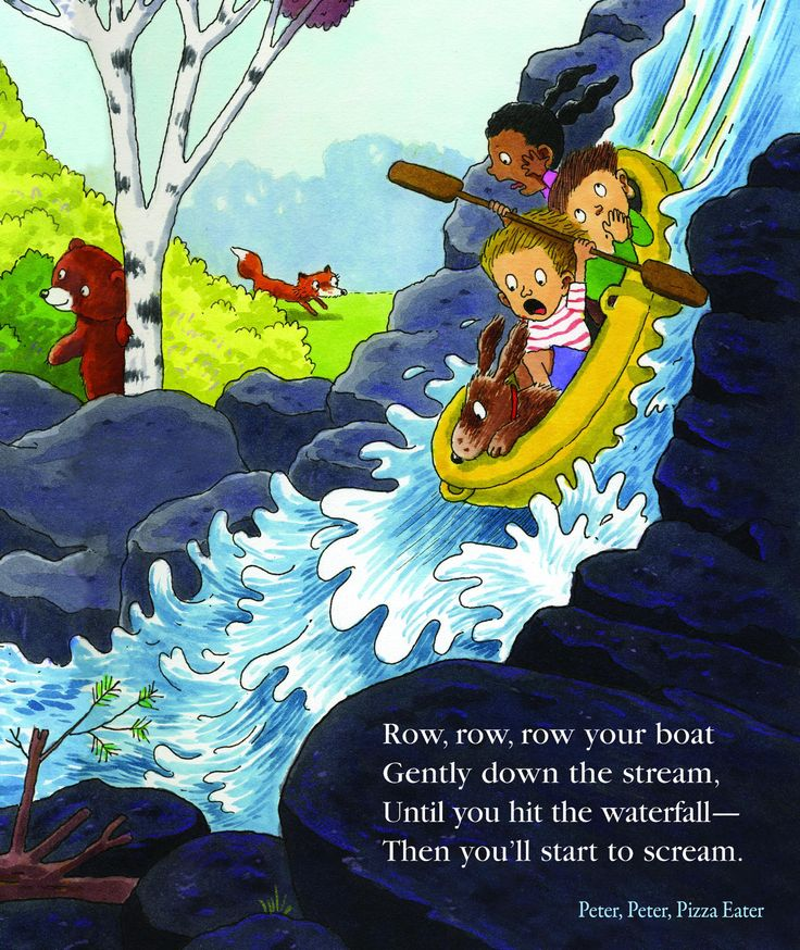 """""""Row, Row, Row Your Boat"""" by Bill Dodds from Peter, Peter, Pizza-Eater."""
