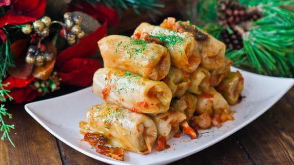 Romanian Cabbage Rolls (Sarmale) They are just wonderful, truly one of my favorite dishes ever Cabbage rolls are easy to make, it's just time consuming to make the rolls. That's why when we make cabbage rolls we make lots. The good thing about cabbage rolls is that you can freeze them.