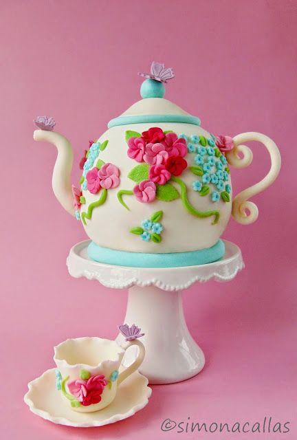Teapot Cake by simonacallas