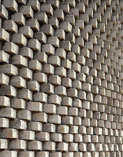 detail pixel-like exterior walls innovative house construction