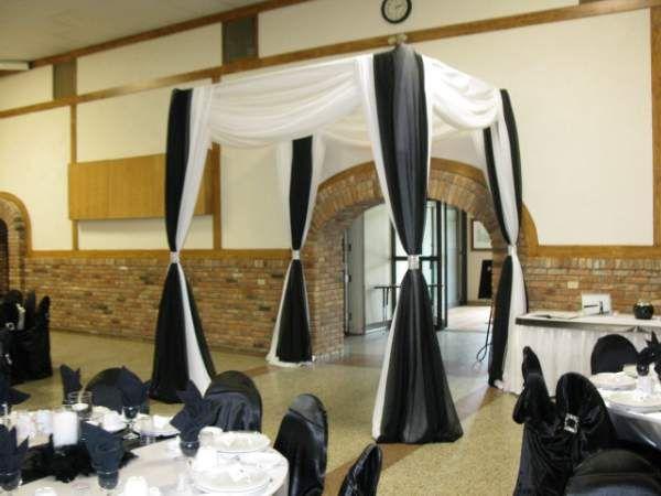 Hall entrance decor event church ballroom decor pinterest for Entrance hall decor