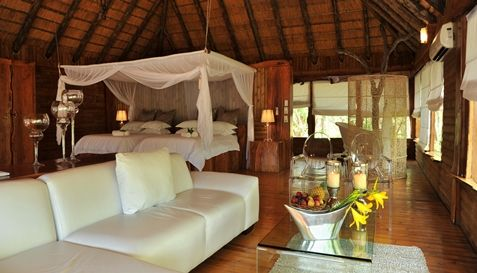 Luxury style in the African bush