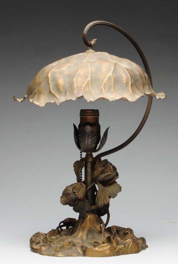 Pairpoint Metal Lamp.