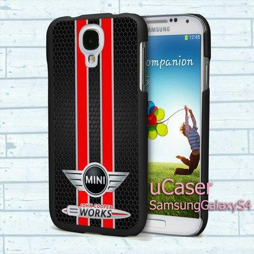 "JOHN Mini COOPER WORKS for Samsung Galaxy S4 5.0"" screen Black Case"