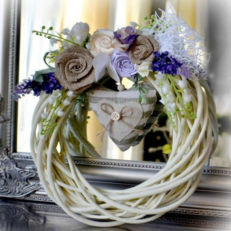 Doors wreath by Marcellinewedding on Etsy