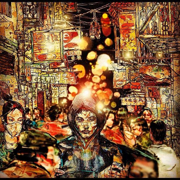 Chinatown david choe art graffiti mural street art for David choe mural