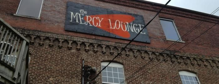 Mercy Lounge is one of The 13 Best Rock Clubs in Nashville.