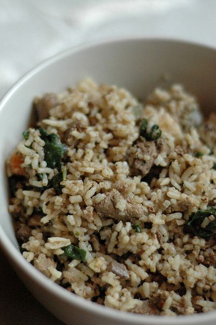 Dirty Rice - you dirty little thing! #soulfood