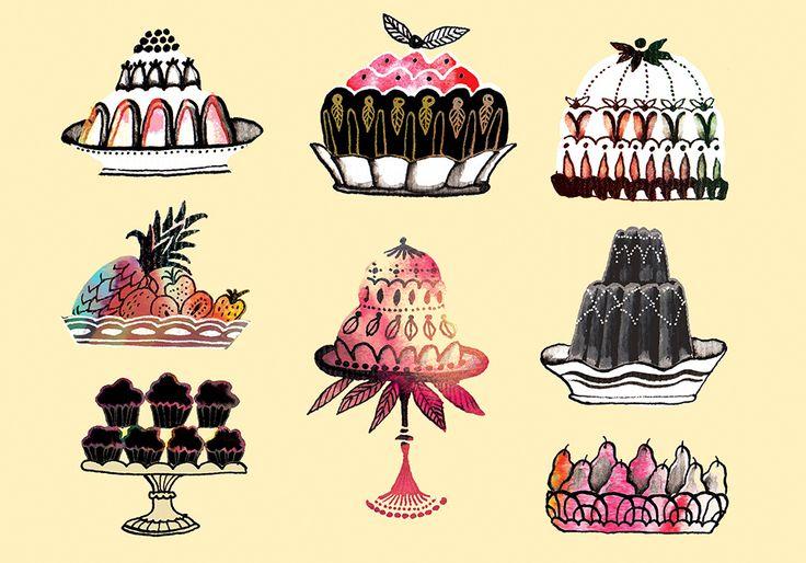Cakes by Eili-Kaija Kuusniemi — Agent Pekka