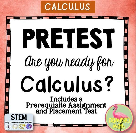 Are you back to school read? You'll love this first week activity for you Calculus students.  a pre-requisite assignemnt, plus a Pre-Test for Calculus rediness. Sure to be a time-saver.