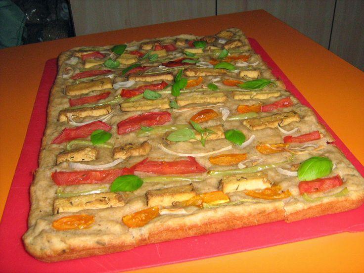 Pizza vegetala.  Un blog despre hrană sănătoasă, rețete vegetariene, comenzi de preparate vegetariene, gânduri bune.