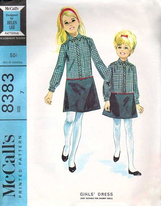 McCall's 8383 by Helen Lee © 1966.