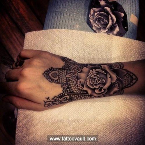 Henna flower tattoo on wrist   Tattoos I