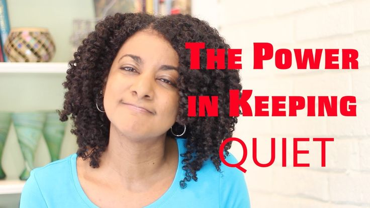 The Power in Keeping Quiet - Kim Tate  If a person does not enjoy conversation then give them quiet as a gift.