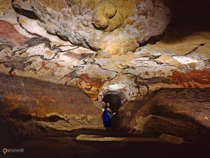 """Пещера Ласко – #Франция #Аквитания (#FR_B) """"Сикстинская капелла первобытной живописи"""". http://ru.esosedi.org/FR/B/1000191921/peschera_lasko/"""