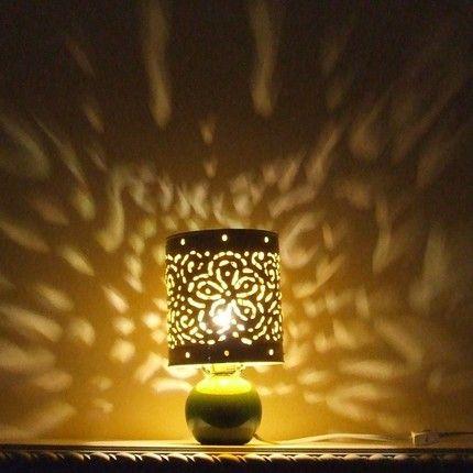 Tin Can Lampshade