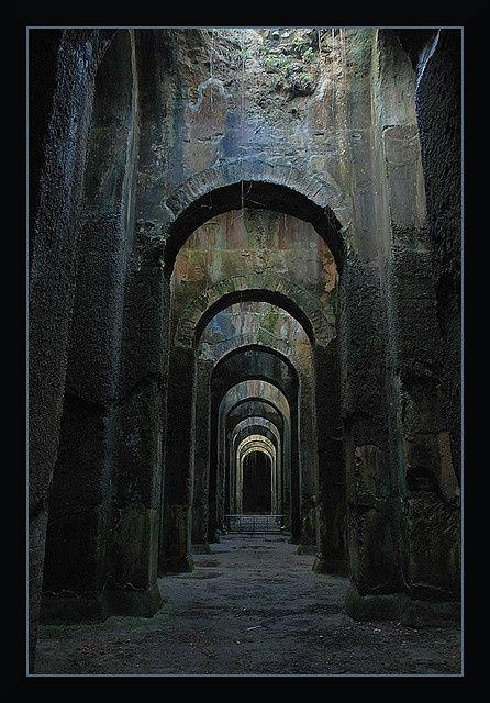 Piscina Mirabilis, Napoli, Italy #ruins #vacant #abandoned